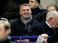 The new Brentford Head Coach Dean Smith prior to the Sky Bet Championship match between Bolton Wanderers and Brentford at the Macron Stadium, Bolton<br /> Picture by Mark D Fuller/Focus Images Ltd +44 7774 216216<br /> 30/11/2015