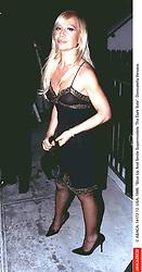 © ABACA. 14172-12. USA, 1999. Shut Up And Smile Supermodels: The Dark Side. Donatella Versace.  | 14172_12