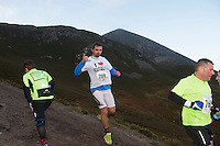 08/11/2014 repro free Szymon Szalkowski, Mayo on Croagh Patrick taking part in the Sea 2 Summit adventure race in Westport Co. Mayo. Photo:Andrew Downes