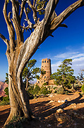 The Desert View Watchtower, Grand Canyon National Park, Arizona USA