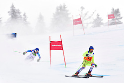HARAUS Miroslav Guide: HUDIK Maros, B2, SVK, Men's Giant Slalom at the WPAS_2019 Alpine Skiing World Championships, Kranjska Gora, Slovenia