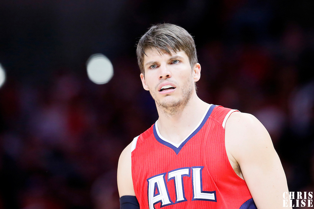 05 January 2014: Atlanta Hawks guard Kyle Korver (26) rests during the Atlanta Hawks 107-98 victory over the Los Angeles Clippers, at the Staples Center, Los Angeles, California, USA.