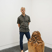 London, UK. 26th June 2017. Artist Sam Bakewell PHOTOCALL at Jerwood Makers Open 2017 for  the sixth edition of Jerwood Makers Open at Jerwood Space, London.