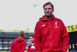 Liverpool Manager Jurgen Klopp arrives at Selhurst Park - Mandatory byline: Jason Brown/JMP - 07966386802 - 06/03/2016 - FOOTBALL - London - Selhurst Park - Crystal Palace v Liverpool - Barclays Premier League