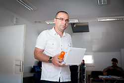 Gorazd Mauri of SZS Marketing during meeting of Executive Committee of Ski Association of Slovenia (SZS) on June 9, 2014 in SZS, Ljubljana, Slovenia. Photo by Vid Ponikvar / Sportida