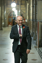 © Licensed to London News Pictures . 03/11/2014 . Manchester , UK . SIR RICHARD LEESE , at Manchester Town Hall after signing a deal to devolve power to Greater Manchester , including giving the city a Mayor and greater control over its finances . Photo credit : Joel Goodman/LNP
