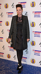 OLIVIA COLMAN attends the British Comedy Awards at Fountain Studios, London, England, December 12, 2012. Photo by i-Images.