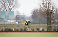 AMSTELVEEN - Toeschouwers, supporters, 4e Ronde Silver Cup. VVV-REIGERS (2-3) . Reigers plaatst zich voor de volgende ronde.  COPYRIGHT KOEN SUYK