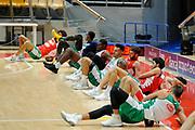Sacchetti Brian,Biligha Paul,Vitali Luca<br /> Nazionale Senior maschile<br /> Allenamento<br /> World Qualifying Round 2019<br /> Bologna 13/09/2018<br /> Foto  Ciamillo-Castoria / M. Longo