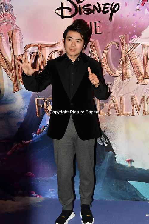 Lang Lang attend The Nutcracker and the Four Realms - UK premiere at Vue Westfield, Westfield Shopping Centre, Ariel Way on 1st Nov 2018, London, UK.