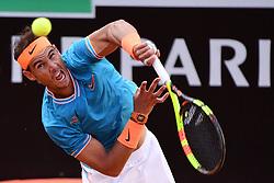May 19, 2019 - Roma, Italia - Foto Alfredo Falcone - LaPresse.19/05/2019 Roma ( Italia).Sport Tennis.Rafael Nadal (esp) vs Novak Djokovic (srb).Internazionali BNL d'Italia 2019 .Nella foto:rafael nadal..Photo Alfredo Falcone - LaPresse.19/05/2019 Roma (Italy).Sport Tennis.Rafael Nadal (esp) vs Novak Djokovic (srb).Internazionali BNL d'Italia 2019.In the pic:rafael nadal (Credit Image: © Alfredo Falcone/Lapresse via ZUMA Press)