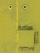 Visage sur un mur ... Überraschendes Gesicht auf einer Wand. © Romano P. Riedo