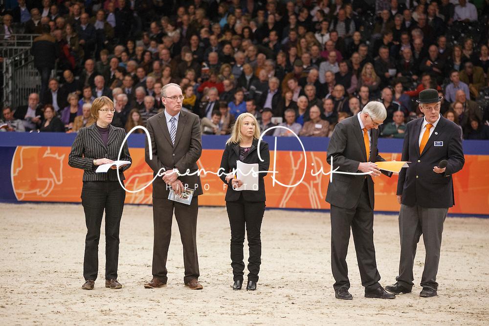 Jury Gelders paard<br /> KWPN Stallion Selection - 's Hertogenbosch 2014<br /> © Dirk Caremans
