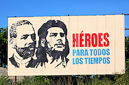 Revolutionary sign in Pinar del Rio, Cuba.