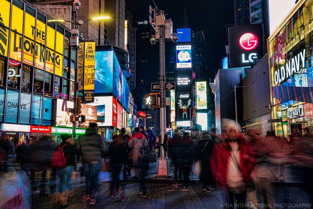 Broadway & 46th Street, Times Square
