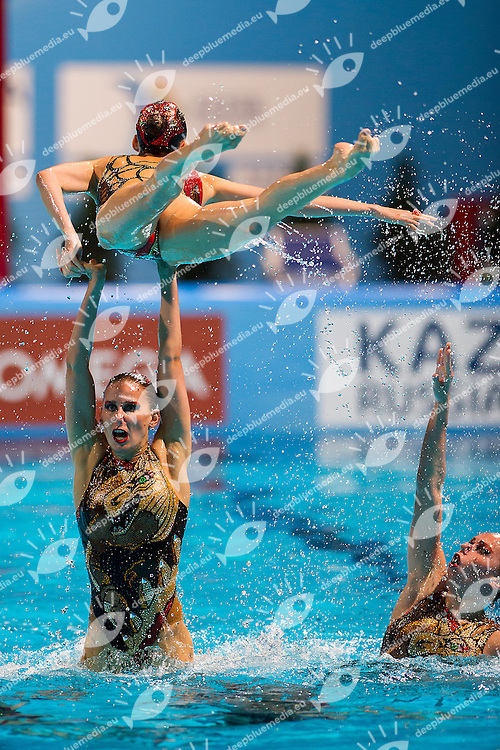 Russia RUS<br /> 15th FINA World Aquatics Championships 2013<br /> Day07 synchronised swimming team Free Final<br /> Barcelona 20 July - 4 August 2013<br /> Photo R.Pannunzi/Insidefoto/Deepbluemedia.eu