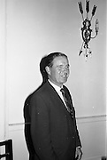 "23/09/1963<br /> 09/23/1963<br /> 23 September 1963<br /> Mr Colm Barnes addressing Rotary Club at the Hibernian Hotel, Dublin. Mr Barnes, Chairman of the Institute of Industrial Research and Standards and Joint Managing Director, Glen Abbey Textiles Ltd., who addressed the Dublin Rotary Club on ""Industrial Research"" at the luncheon."