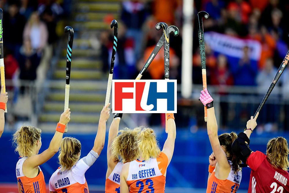 AUCKLAND - Sentinel Hockey World League final women<br /> Match id:<br /> 18 NED v KOR (Semi Final)<br /> Foto: <br /> WORLDSPORTPICS COPYRIGHT FRANK UIJLENBROEK
