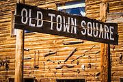 Historic Old Town Square, Silverton, Colorado USA