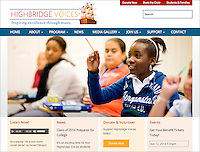 Highbridge Voices website, 2014.
