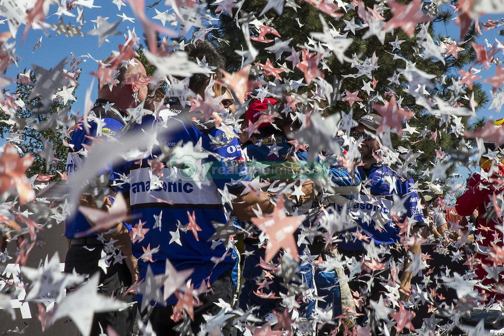 September 2, 2018 - Portland, Oregon, United Stated - TAKUMA SATO (30) of Japan wins the Portland International Raceway at Portland International Raceway in Portland, Oregon. (Credit Image: © Justin R. Noe Asp Inc/ASP via ZUMA Wire)