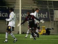 Fotball , 18. Januar 2009 , Color line cup , <br /> <br /> finale<br /> Rosenborg junior - FC midtjylland junior 1-4<br /> <br /> Sylvester emega - fc midtjylland <br /> <br /> <br /> Foto: Richard brevik, Digitalsport