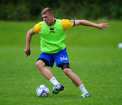 Bristol Rovers' Ryan Brunt - Photo mandatory by-line: Dougie Allward/JMP - Tel: Mobile: 07966 386802 24/06/2013 - SPORT - FOOTBALL - Bristol -  Bristol Rovers - Pre Season Training - Npower League Two