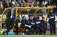 Photo: Rich Eaton.<br /> <br /> Wolverhampton Wanderers v West Bromwich Albion. Coca Cola Championship. 11/03/2007. Tony Mowbray far left the West Brom manager watches his team lose 1-0 at Wolves
