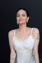 Exclusive - Actress Angelina Jolie doing a shooting for Guerlain in Paris, France, on July 8, 2019. Photo by ABACAPRESS.COM