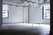 empty gallery space New York City
