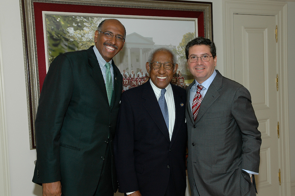 Reception at Dan Snyder's home for Michael Steele congressional run