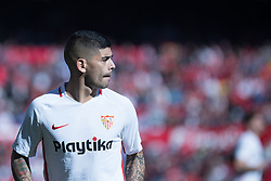 January 26, 2019 - Sevilla, Andalucia, Spain - Ever Banega of Sevilla FC during the La Liga match between Sevilla FC v Levante UD at the Ramon Sanchez Pizjuan Stadium on January 26, 2019 in Sevilla, Spain  (Credit Image: © Javier MontañO/Pacific Press via ZUMA Wire)