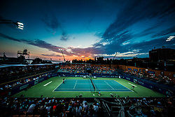Stadium during Final Singles match between Constant Lestienne (FRA) and Andrea Arnaboldi (ITA) at Day 9 of ATP Challenger Zavarovalnica Sava Slovenia Open 2018, on August 11, 2018 in Sports centre, Portoroz/Portorose, Slovenia. Photo by Vid Ponikvar / Sportida