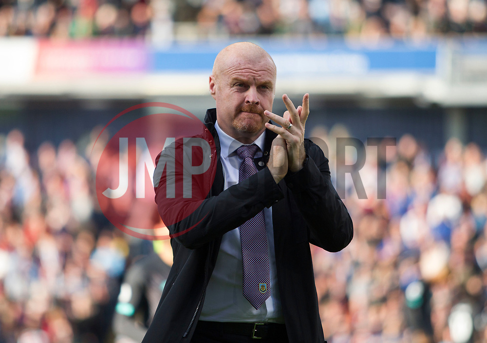 Burnley manager Sean Dyche - Mandatory by-line: Jack Phillips/JMP - 31/08/2019 - FOOTBALL - Turf Moor - Burnley, England - Burnley v Liverpool - English Premier League