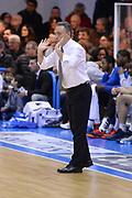 DESCRIZIONE : Brindisi  Lega A 2014-15 Enel Brindisi Banco di Sardegna Sassari<br /> GIOCATORE : Bucchi Piero <br /> CATEGORIA : Allenatore Coach Mani <br /> SQUADRA : Enel Brindisi<br /> EVENTO : Lega A 2014-2015<br /> GARA :Enel Brindisi Banco di Sardegna Sassari<br /> DATA : 07/02/2015<br /> SPORT : Pallacanestro<br /> AUTORE : Agenzia Ciamillo-Castoria/M.Longo<br /> Galleria : Lega Basket A 2014-2015<br /> Fotonotizia : Enel Brindisi Banco di Sardegna Sassari<br /> Predefinita :