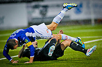 Tippeligaen , <br /> Fotball , <br /> 12.09.2010 , <br /> Sarpsborg Stadion , <br /> Sarpsborg 08 v Rosenborg , <br /> Rade Prica felles av Kjetil Berge , <br /> Foto: Thomas Andersen / Digitalsport