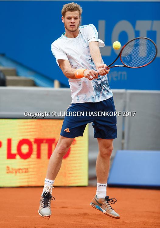 YANNICK HANFMANN (GER)<br /> <br /> Tennis - BMW Open2017 -  ATP  -  MTTC Iphitos - Munich -  - Germany  - 3 May 2017.