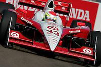 Ryan Briscoe at St. Petersburg, Honda Grand Prix of St. Petersburg, April 3, 2005