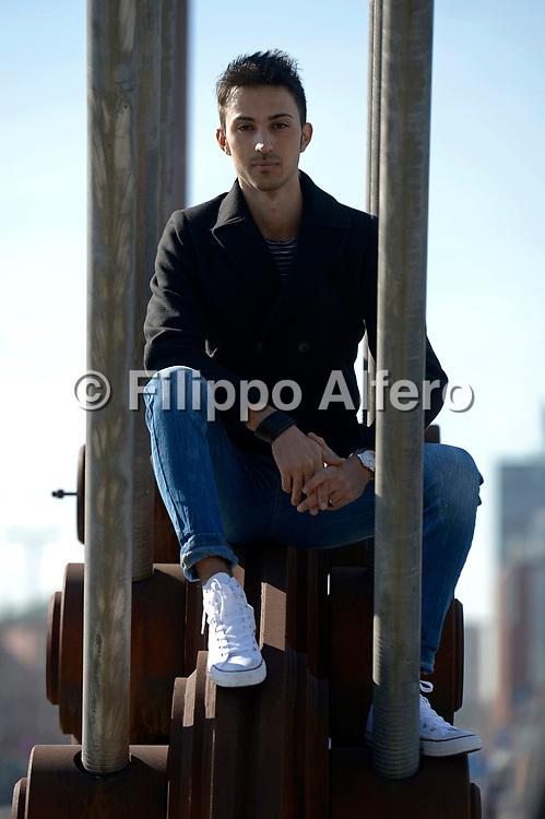 &copy; Filippo Alfero<br /> Fabrizio Candotti, ritratti<br /> Torino, 09/03/2017