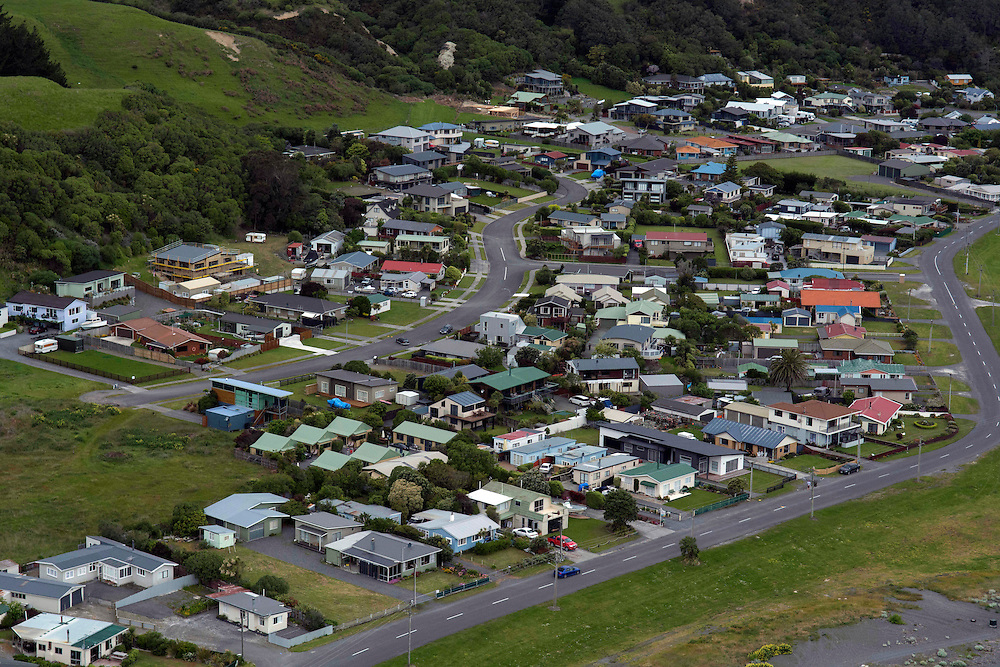 The township of Kaikoura, after the 7.5 magnitude Hanmer Earthquake, New Zealand, Monday, November 14, 2016. Credit:SNPA / David Alexander **NO ARCHIVING**