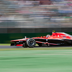 F1 Australian Grand Prix 15 March 2013.F1 Practice Session 1 Max Chilton Marussia Team.(c) MILOS LEKOVIC | StockPix.eu