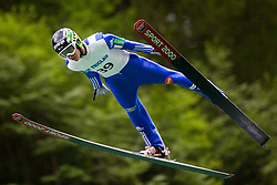 Timi Zajc during Ski Jumping Continental Cup, on July 7th, Kranj, Slovenia. Photo by Ziga Zupan / Sportida