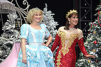 Joanna Page; Dina Payne First Family Entertainment Pantomime photocall, Piccadilly Theatre, London UK, 26 November 2010: piQtured Sales: Ian@Piqtured.com +44(0)791 626 2580 (picture by Richard Goldschmidt)