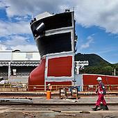 JAPAN SHIPBUILDING - TSUNEISHI, HIROSHIMA
