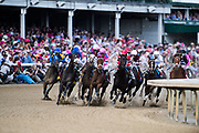 May 3, 2019: 145th Kentucky Oaks at Churchill Downs. Serengeti Empress, ridden by jockey Jose Ortiz, wins the 145th running of the Kentucky Oaks at Churchill Downs on Friday May 3.