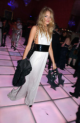 Model LILY DONALDSON at the 2006 Moet & Chandon Fashion Tribute in honour of photographer Nick Knight, held at Strawberry Hill House, Twickenham, Middlesex on 24th October 2006.<br />