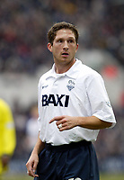 Fotball: Preston Thordur Gudjonsson in action against Birmingham City during the Nationwide Division One match at Deepdale, Preston. Saturday March 2nd 2002<br />Foto: David Rawcliffe, Digitalsport