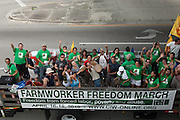 CIW - Farmworker Freedom March - Three day march against forced labor, poverty and abuse - The Coalition of Immokalee Workers  marches on Publix