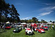 August 14-16, 2012 - Pebble Beach / Monterey Car Week. Cars at the Quail Gathering