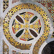 Palermo, the cathedral, detail royal throne.<br /> Cattedrale di Palermo, trono regio, dettaglio.
